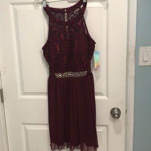 A beautiful junior size 11 BCX sequinced dress